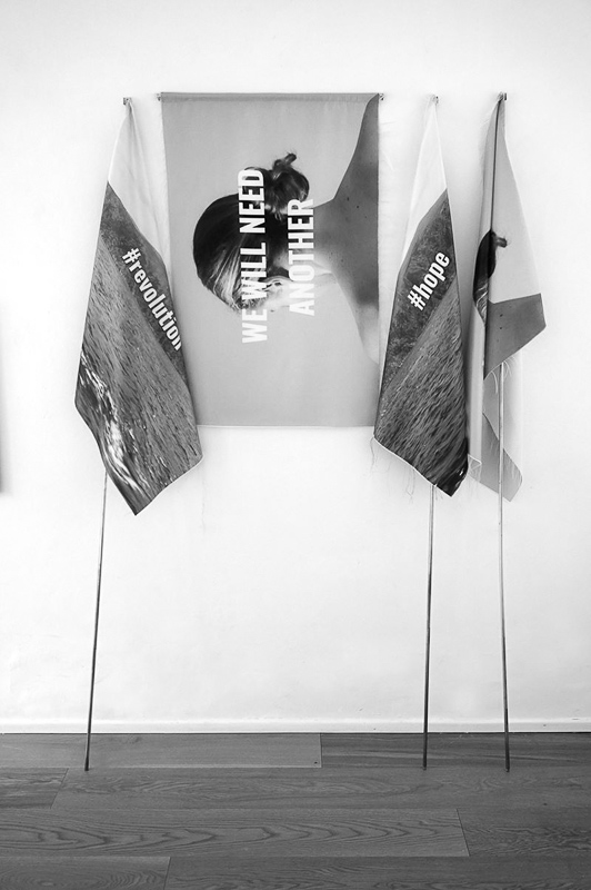 "Installation view ""TRUE"", Muratcentoventidue, Bari. Credits: Chrischa Venus Oswald"